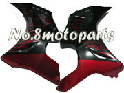 Fit For Suzuki 2003-2013 Sv650 Red Flames Black Left Right Side Fairing Plastic