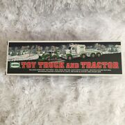 2013 Hess Toy Truck And Tractor - Mint In Boxnever Removedcollectors Edition
