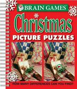 Brain Games - Christmas Picture Puzzles How Many Differences Can You Find Bra