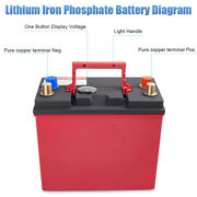 12v 46b24l Group 51 Lithium Iron Phosphate Battery Lifepo4 Automobile Bms System