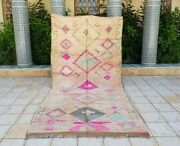 Vintage Moroccan Boujaad Rug Berber Carpets 11and0399x5and0398 Ft Azilal Rug Moroccan