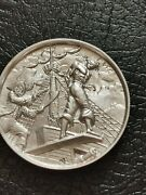 Privateer Series -walk The Plank Ultra High Relief 2 Oz .999 Silver Bu -
