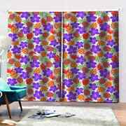 Pineapple Fields Covered With Roses Printing 3d Blockout Curtains Fabric Window