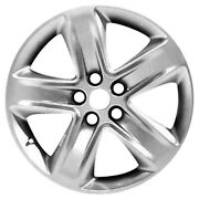 Oem Remanufactured 18 X 7.5 Alloy Wheel All Painted Silver W/black Primer-03800
