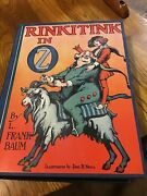 Rinkitink In Oz By L Frank Baum Vintage 1916 Hardcover In Excellent Condition
