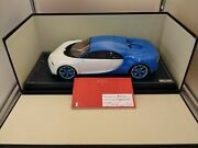 Mr Collection Scale Size 1/18 Bugatti Chiron Bug06d Tear, Crack, Etc. From Japan