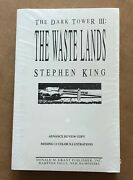The Dark Tower Iii The Wastelands By Stephen King Proof Donald M. Grant 1991