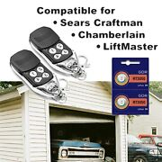 Replacement For Liftmaster 372lm Garage Door Remote Opener 315mhz With Batteries