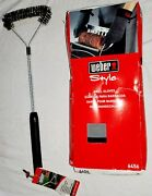 Weber Style 6456 Grill Gloves Grill Brush Bbq Heat Resistant Fireplace Kitchen