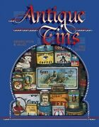 Antique Tins Identification And Values By Dodge, Fred Paperback Book The Fast