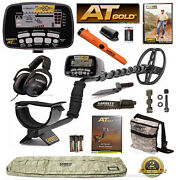 New Garrett At Gold Metal Detector Ultimate Bundle With Pro-pointer At And More