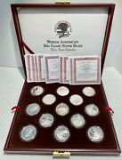 North American Big Game Super Slam Silver Proof Animal Collection 27 Coin Set