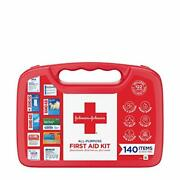 Johnson And Johnson All-purpose Portable Compact First Aid Kit For Minor Cuts S...