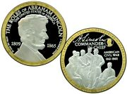 Commander In Chief Abraham Lincoln Commemorative Coin Proof Value 139.95