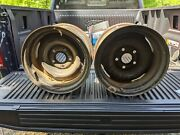 2 14 Ford Wheels 14 X 7 1/2 Inches Early Ford Ratrod