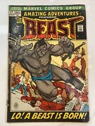 Amazing Adventures 11, Featuring The Beast, March 1972 Beautiful Book