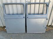 1930 1931 Model A Ford Coupe Doors Pair 2