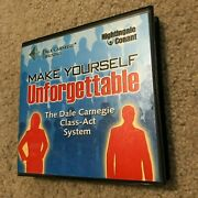 Make Yourself Unforgettable Dale Carnegie Class Act Nightingale Conant 6 Cd Set