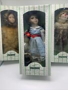 New Seymour Mann Storybook Tiny Tots Wizard Of Oz Collection Lot Of 4 Dolls