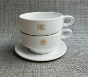 British Airways Royal Doulton Airlines Flight Service Coffee Tea Cups 1 Saucer