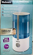 Holmes White Ultrasonic Cool Mist Filter-free Humidifier