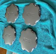 Beautiful Set - 1996 1997 Cadillac Sts Chrome Hubcaps - Wheel Cover - Center Cap