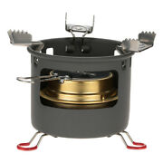 New Camping Alcohol Burner Stove Alcohol Stove Bracket Support Set W6z3