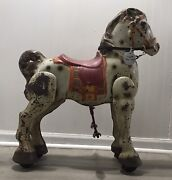 Vintage Antique Mobo Bronco Kids Ride On Horse Made In England