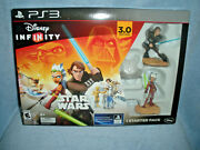 Ps3 Disney Infinity Star Wars - 1 Starter Pack - New In Box 3.0 Edition