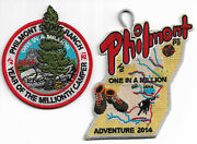 Philmont Scout Ranch 2014 Adventure Patches One In A Million Set Of 2