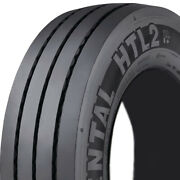 4 New Continental Htl2 Eco Plus St 245/70r17.5 Load J 18 Ply Trailer Tires