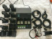 Cadex C7400er C-series Battery Analyzer With Accessories 16 X Adapter 3 Cable.