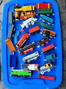 Thomas The Train Engines, Cars, Tracks, Crane, And Accessories