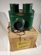 Mirrorscope Cleveland Usa Antique Photo Post Card Projector Green In Box