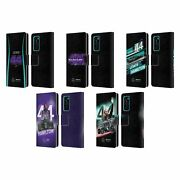 Mercedes-amg Petronas F1 Team Lewis Hamilton Leather Book Case For Huawei Phones