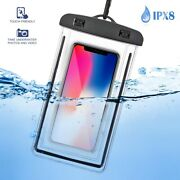 Underwater Cell Phone Pouch Waterproof Dry Bag Case Floating Universal Type