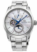 Orient Star Mechanical Moon Phase Rk-ay0005a Men's Watch Automatic White 2021