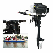 4hp 4 Stroke Outboard Motor Boat Engine Short Shaft Cdi Air Cooling System