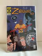 Rare Z-blade Xx Issue 1 2009 Comic Book Signed By Steve J Palmer And Guy Lemay