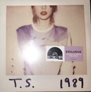 Taylor Swift Rsd Vinyl Lp 1989 Crystal Clear/pink /3750 New/sealed Rare Last One