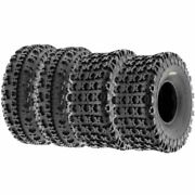 4 Sunf 23x7-10 And 20x10-9 Replacement Atv Utv 6 Ply Tires A027 23x7x10 And 20x10x9