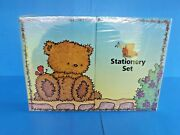 New Sealed Complete Stationary Setwith Cute Bearsnoteletswriting Paper.etc.