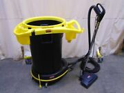 Rubbermaid Power Nozzle Portable Commercial Vacuum Cleaner And Garbage Can In One