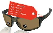 Gibston Sunglasses Olive Ink Frame Prizm Tungsten Lens Oo9449 New
