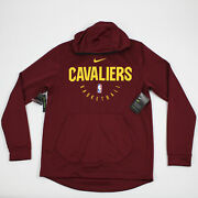 Cleveland Cavaliers Nike Dri-fit Sweatshirt Menand039s Crimson/gold New With Tags