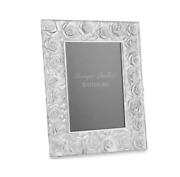 Monique Lhuillier Waterford Sunday Rose Lead Crystal 5x7 Picture Frame 7831