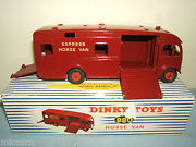 Dinky Toys Model No.980 Express Horse Van Us Issue And Mega Rare Vn Mib
