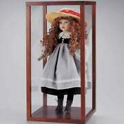 Doll Display Case Storage Wood Showcase Cover For Size 12 13 14 15 16 17 1