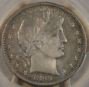 1899-s Barber Half Dollar 50c Pcgs Certified Au Details Cleaning Many Like This