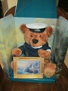 Thomas Kinkade The Light Of Peace 14 Sailor Bear And 7 Framed Picture